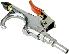 Compressed air blow gun