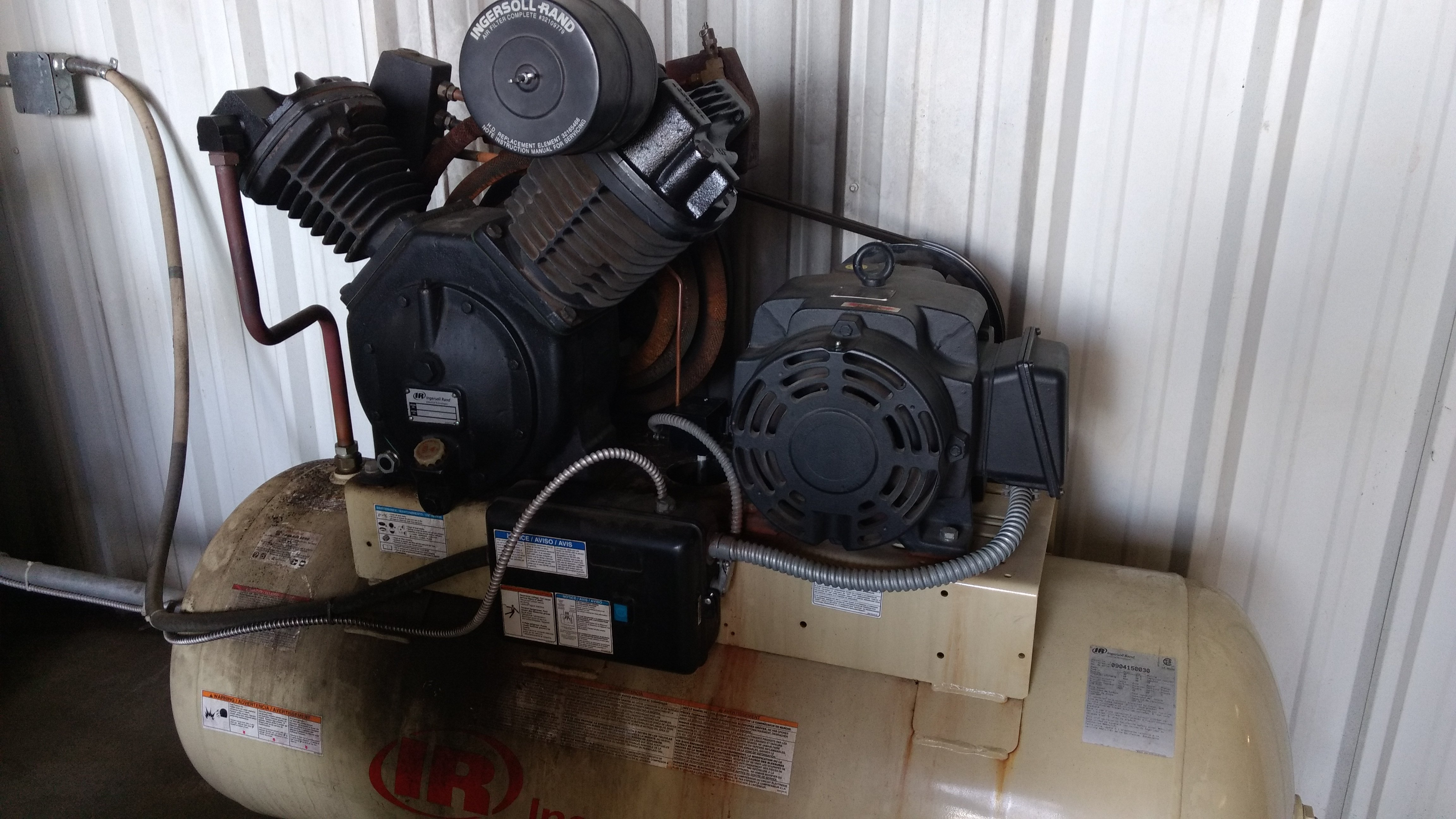 another view of the compressor