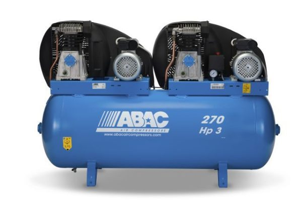 Abac air compressor Pro B39 270 FM3 Tandem - Fix-My-Compressor.com