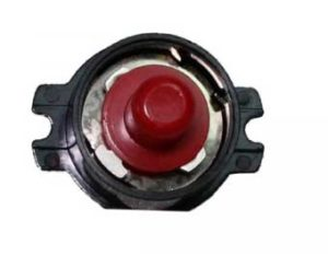 Electric motor thermal reset button